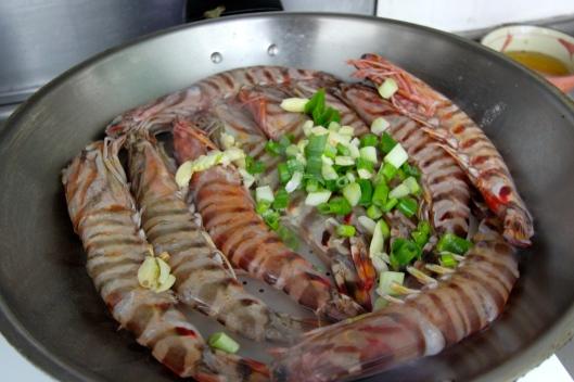 Ai-Yi's shrimp dish
